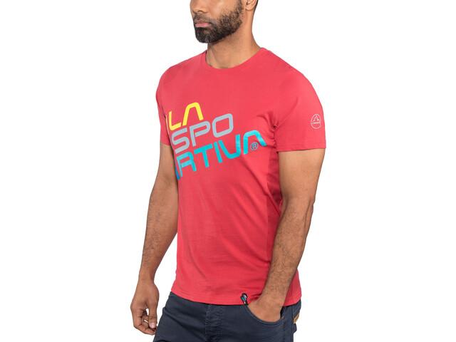 La Sportiva M's Square T-Shirt Cardinal Red